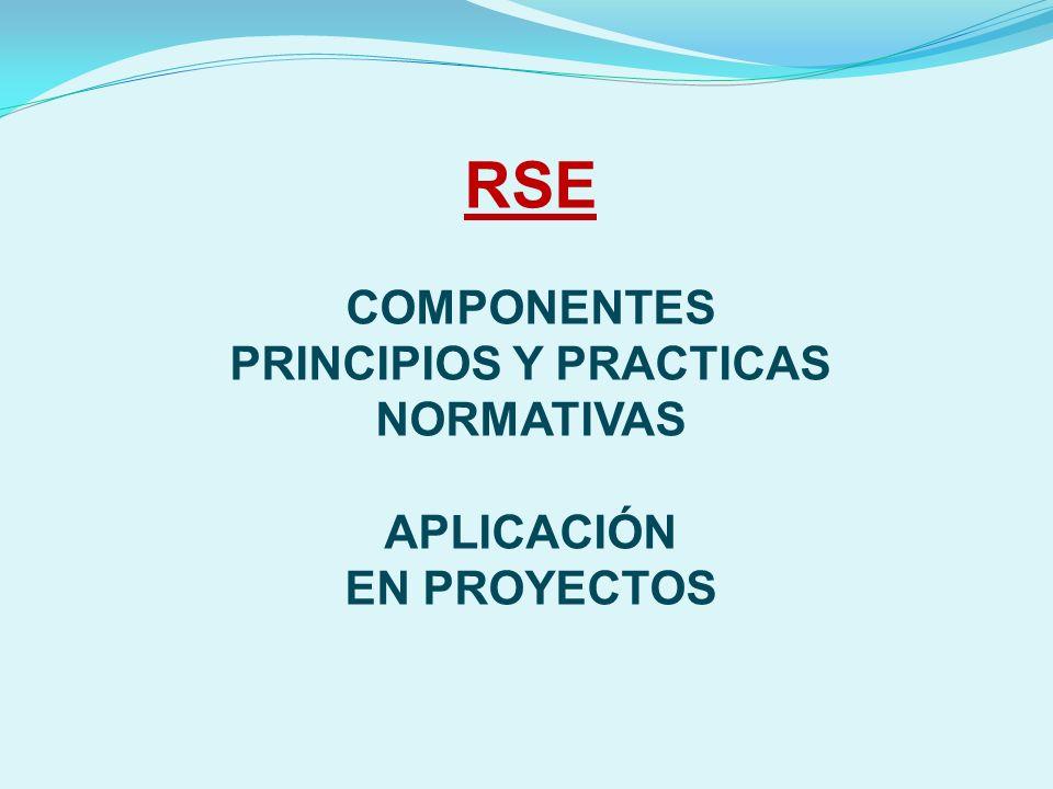 COMPONENTES PRINCIPIOS Y PRACTICAS