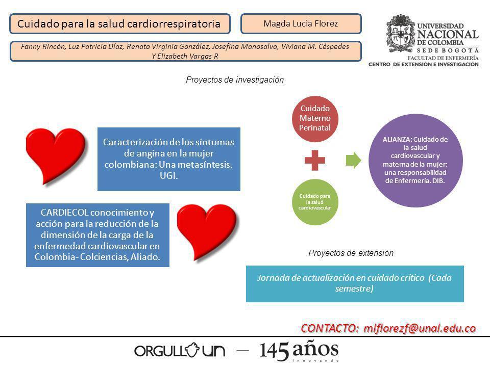 Cuidado para la salud cardiorrespiratoria