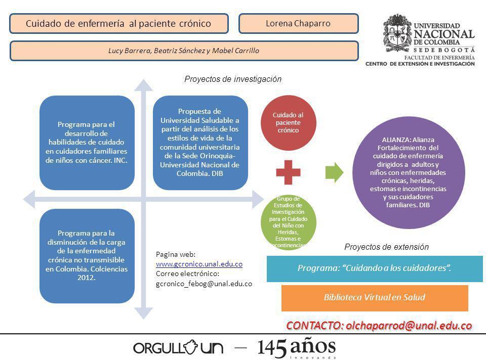 CONTACTO: olchaparrod@unal.edu.co