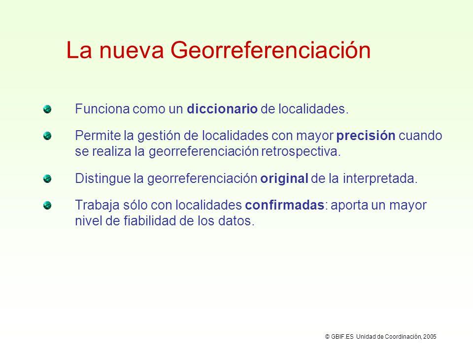 La nueva Georreferenciación