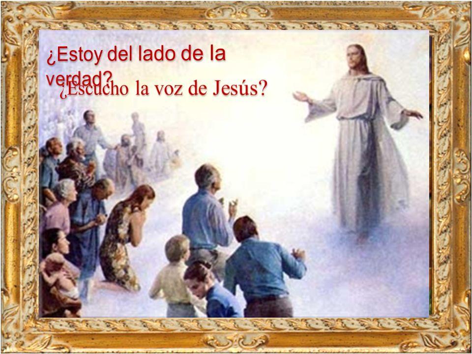 ¿Escucho la voz de Jesús