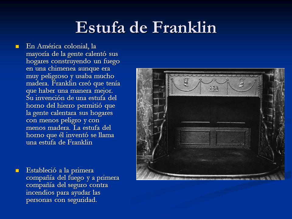 Estufa de Franklin