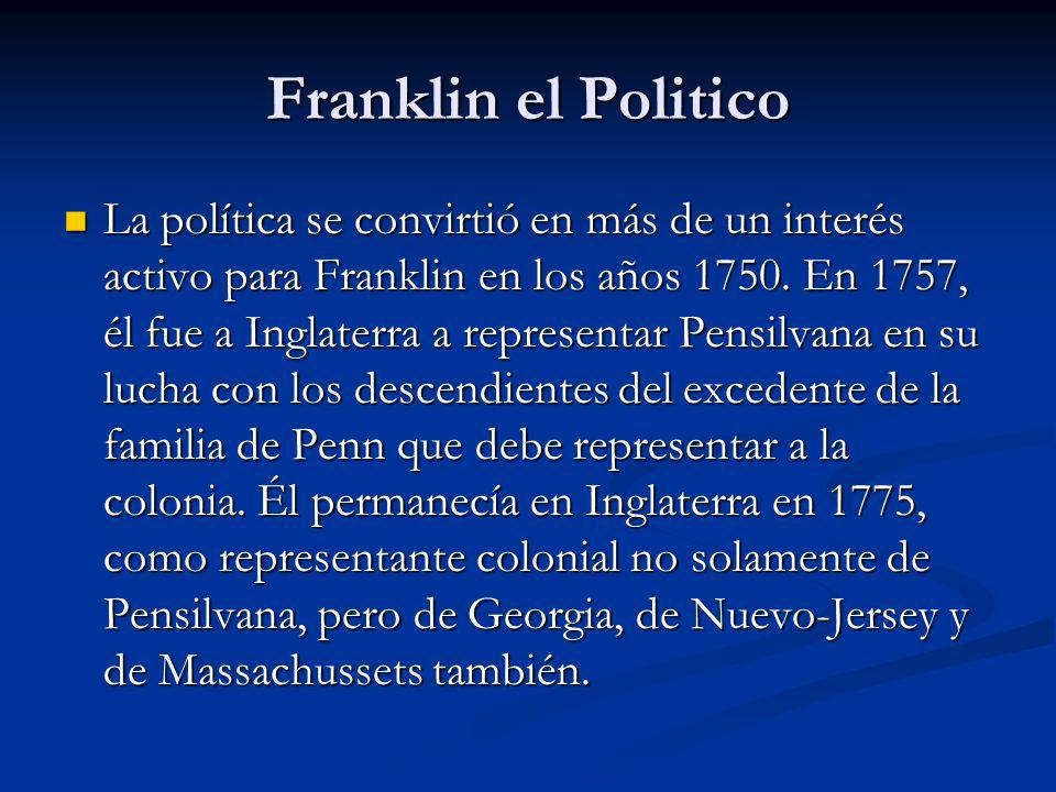 Franklin el Politico