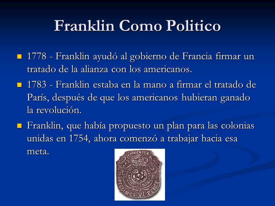 Franklin Como Politico