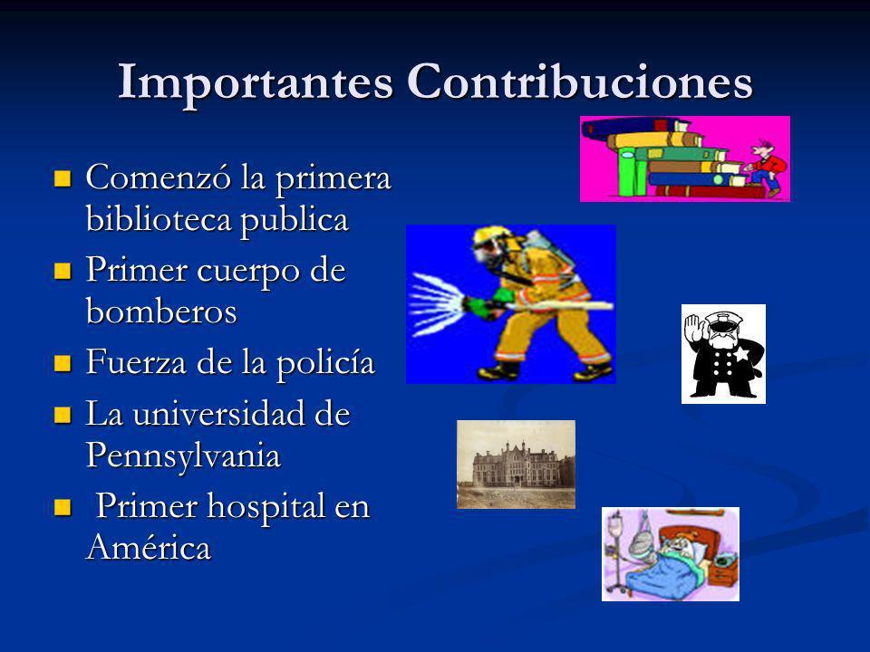 Importantes Contribuciones