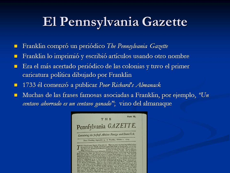 El Pennsylvania Gazette