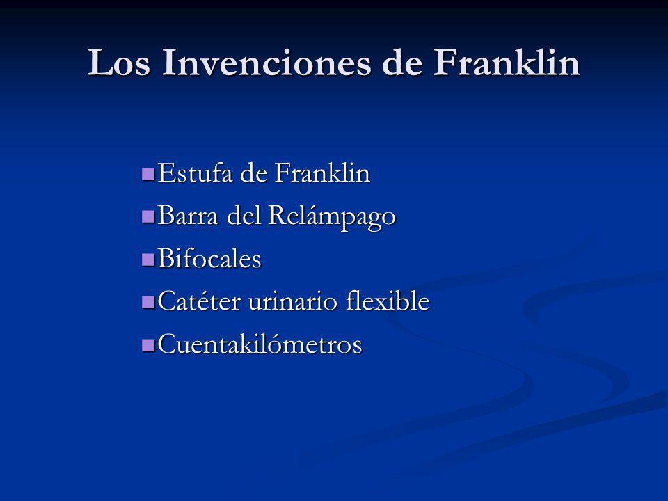 Los Invenciones de Franklin
