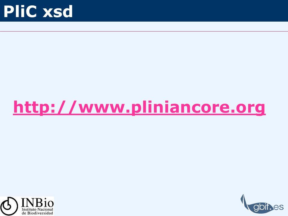 PliC xsd http://www.pliniancore.org