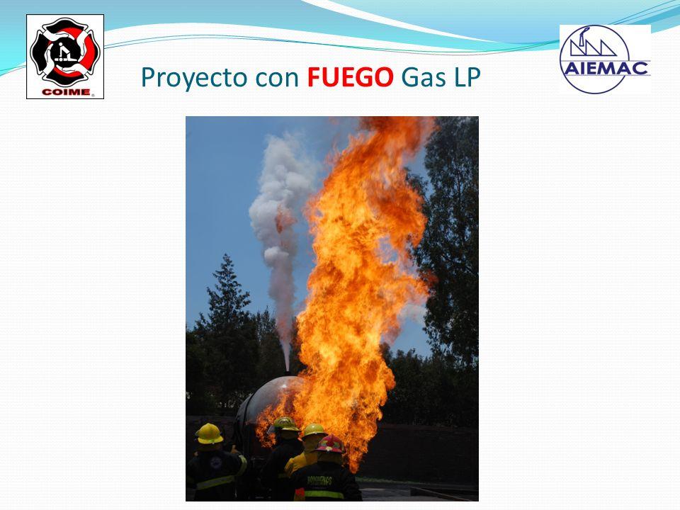 Proyecto con FUEGO Gas LP