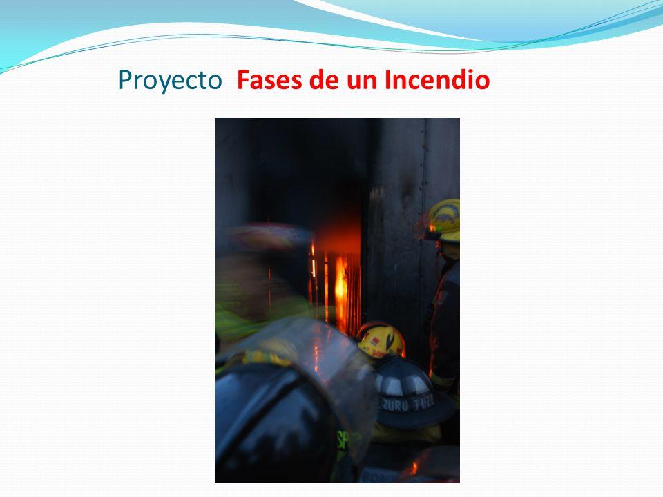 Proyecto Fases de un Incendio
