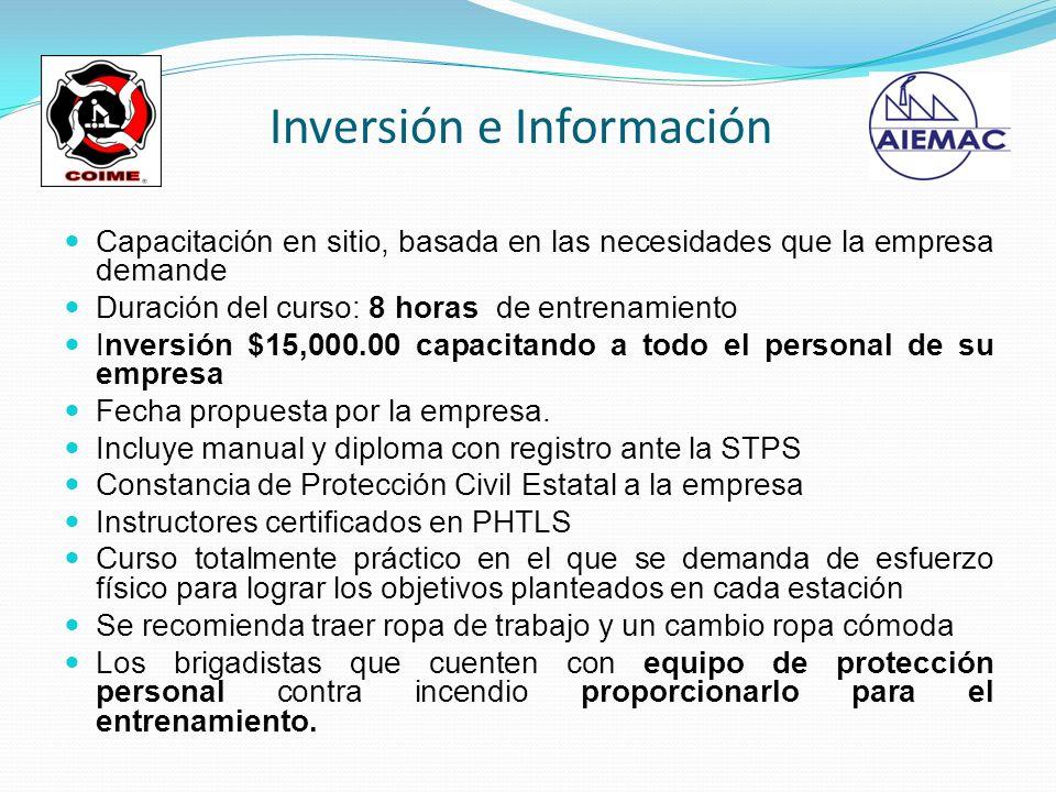 Inversión e Información