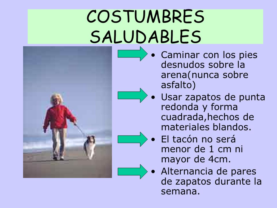 COSTUMBRES SALUDABLES