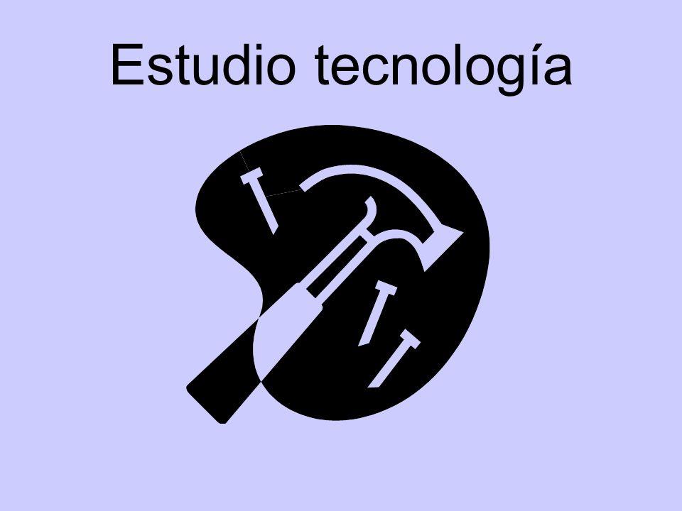 Estudio tecnología