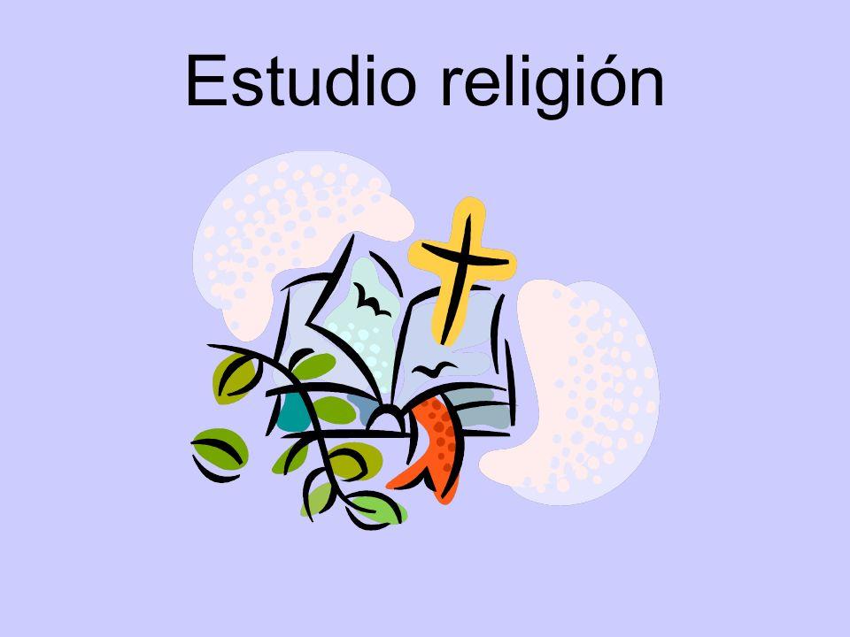 Estudio religión