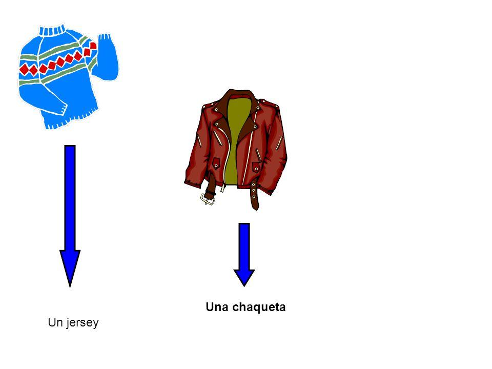 Una chaqueta Un jersey