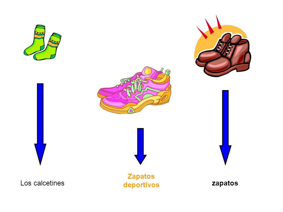 Zapatos deportivos Los calcetines zapatos