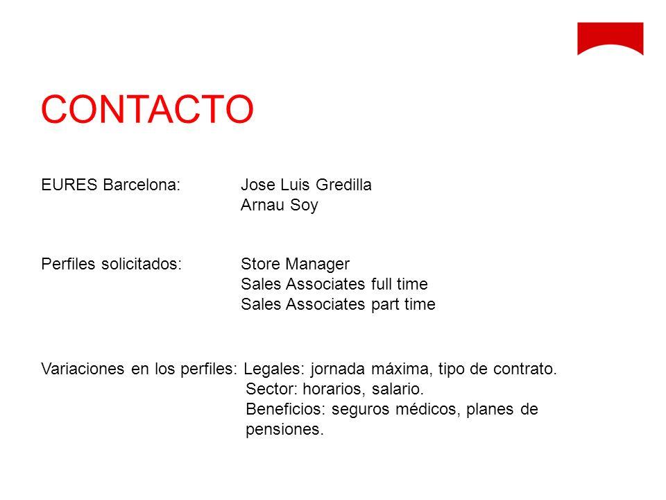 CONTACTO EURES Barcelona: Jose Luis Gredilla Arnau Soy