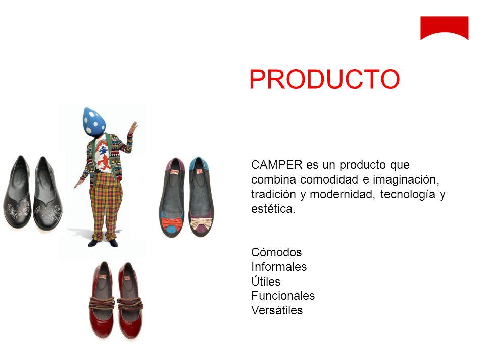 PRODUCTO CAMPER es un producto que combina comodidad e imaginación, tradición y modernidad, tecnología y estética.