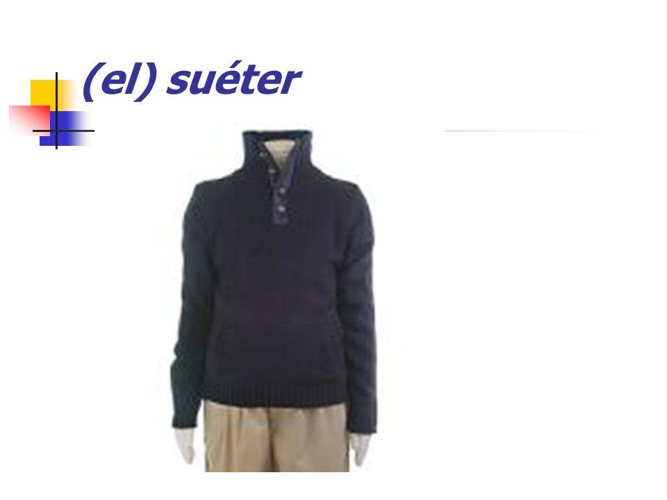(el) suéter