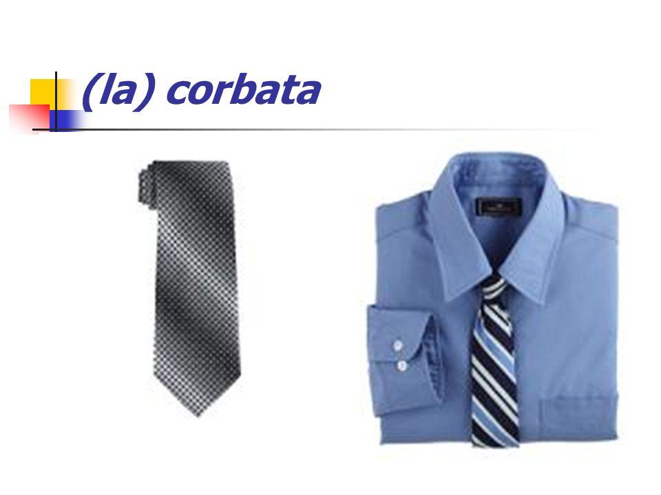 (la) corbata