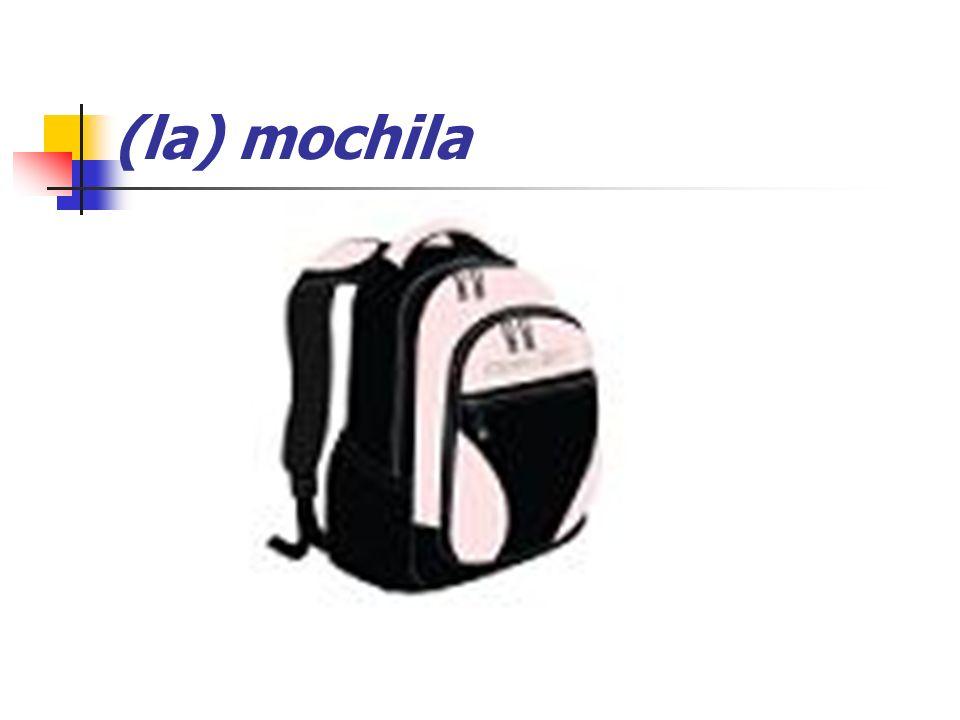 (la) mochila