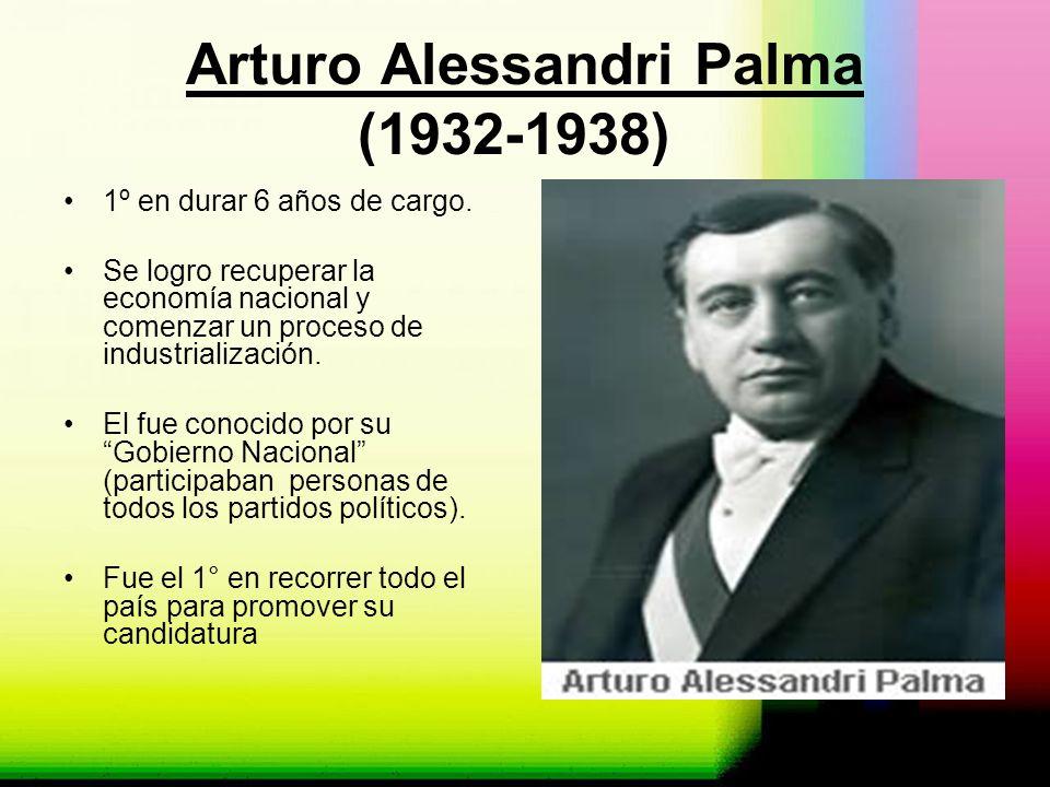 Arturo Alessandri Palma (1932-1938)