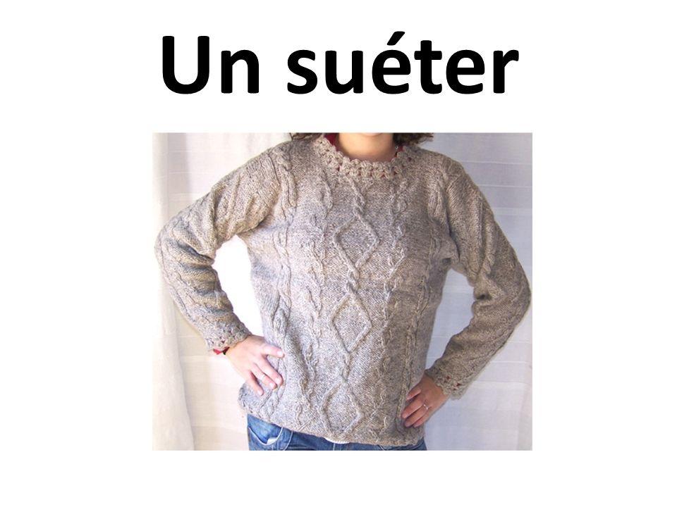 Un suéter