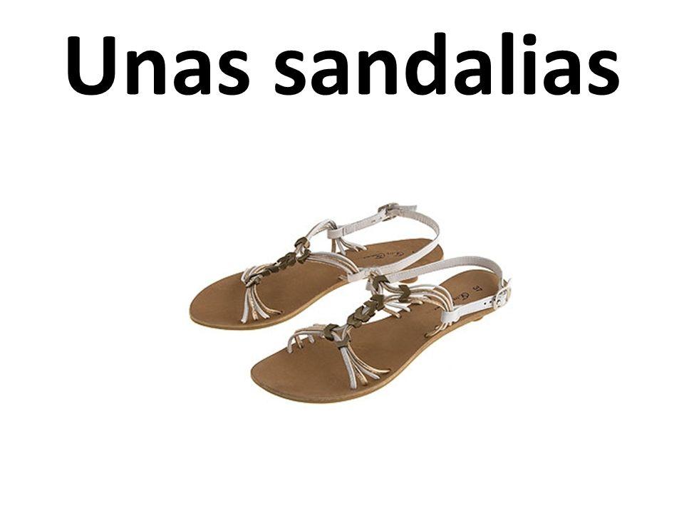 Unas sandalias