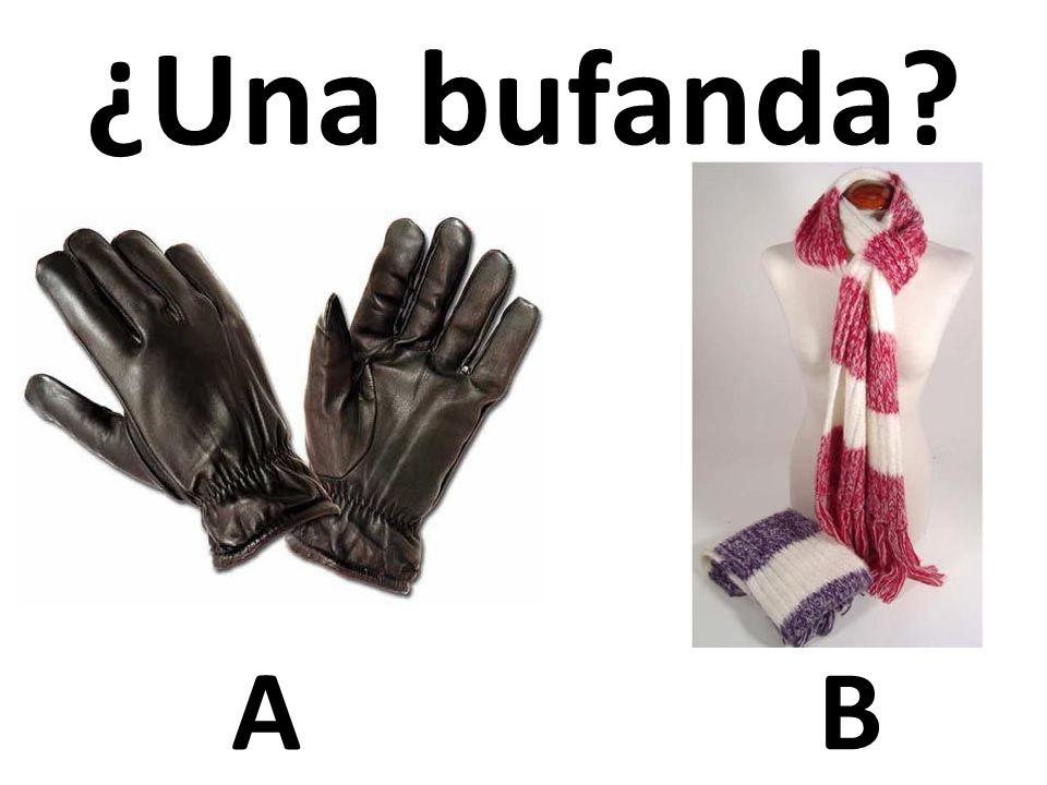 ¿Una bufanda A B 36