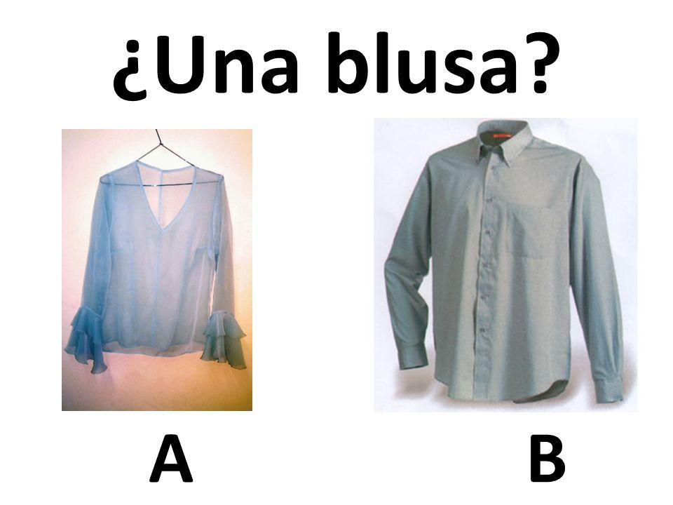 ¿Una blusa A B 38