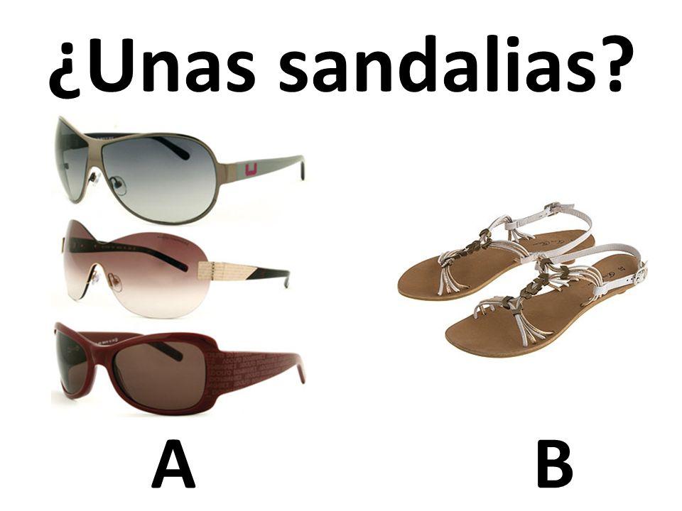 ¿Unas sandalias A B 39