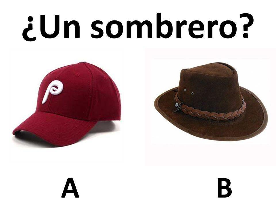 ¿Un sombrero A B 42