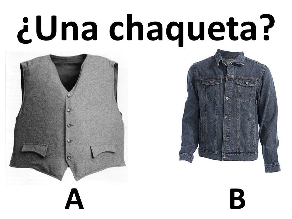 ¿Una chaqueta A B 48