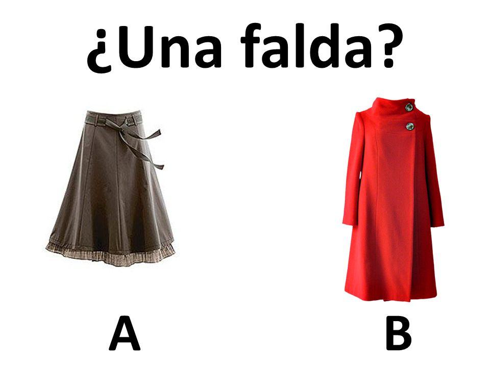 ¿Una falda A B 54