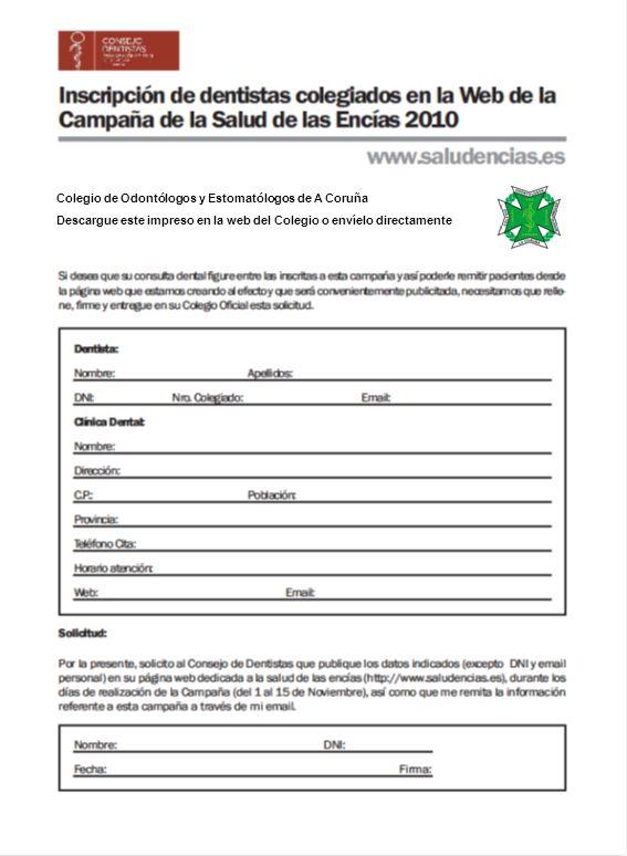 Colegio de Odontólogos y Estomatólogos de A Coruña