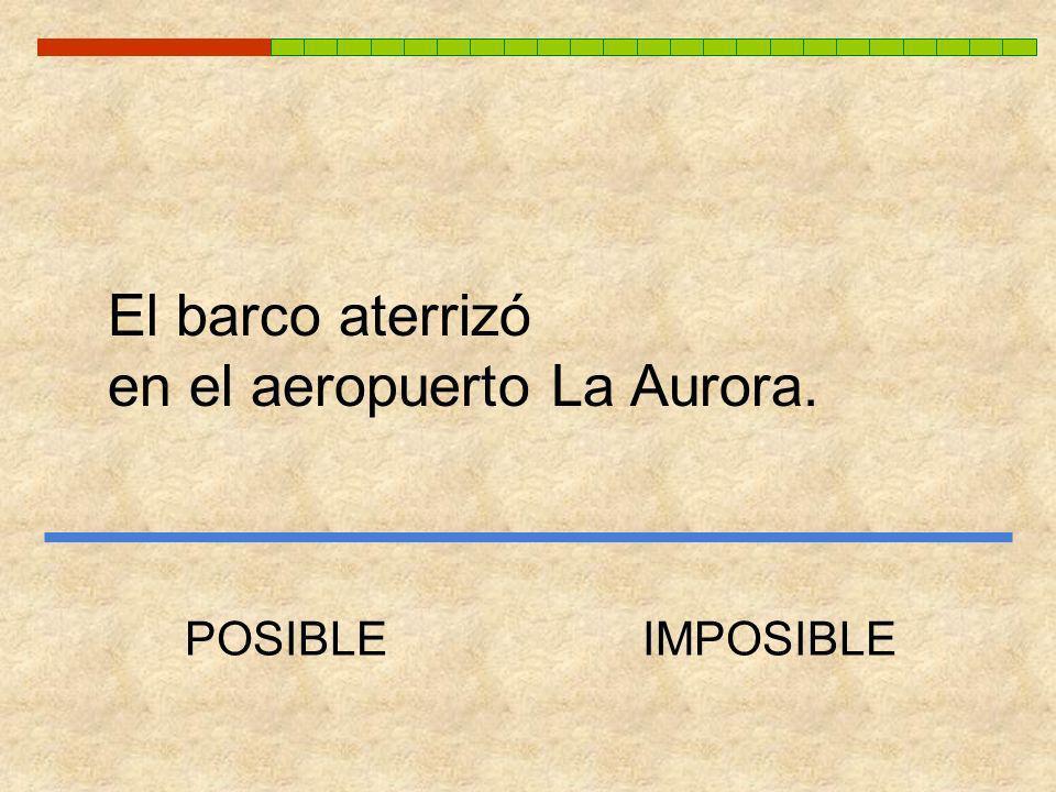 en el aeropuerto La Aurora.