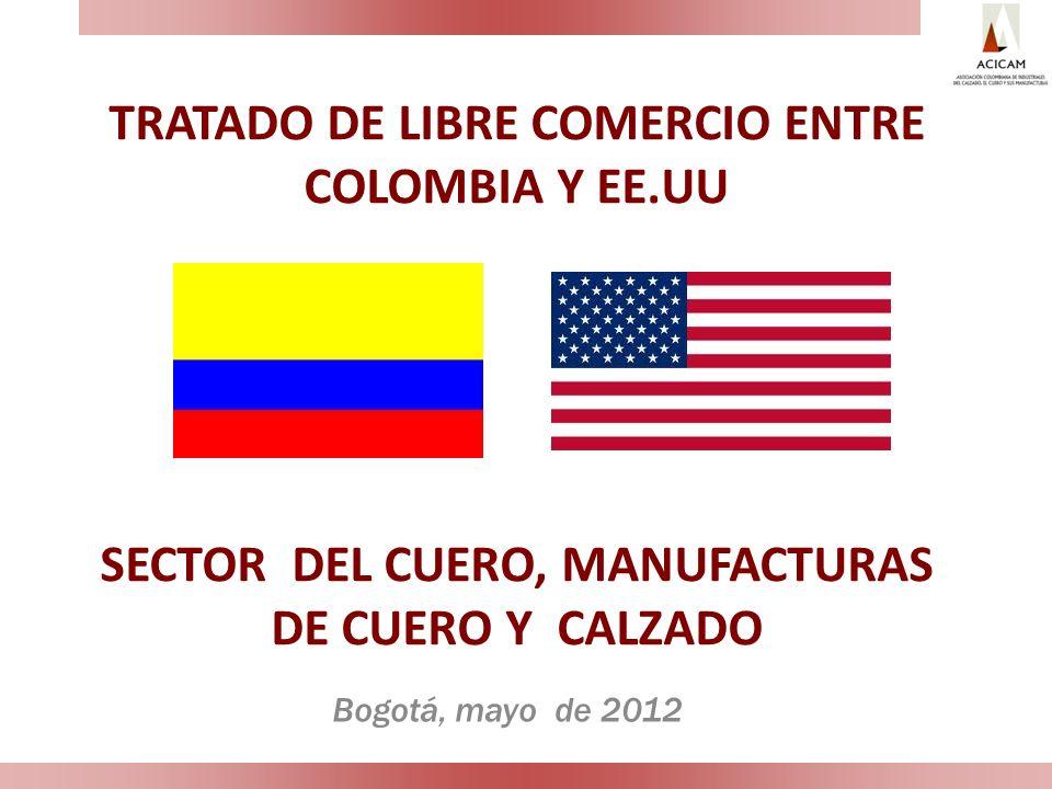 TRATADO DE LIBRE COMERCIO ENTRE COLOMBIA Y EE