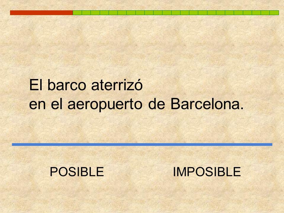 en el aeropuerto de Barcelona.