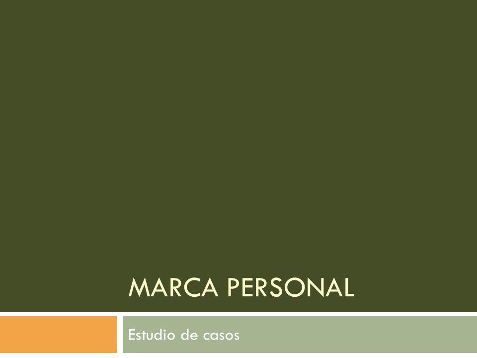 Marca personal Estudio de casos