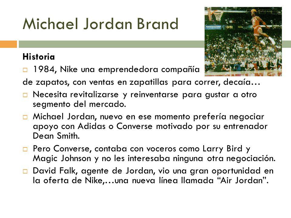 Michael Jordan Brand Historia 1984, Nike una emprendedora compañía