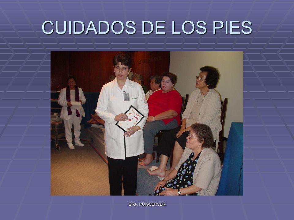CUIDADOS DE LOS PIES DRA. PUIGSERVER