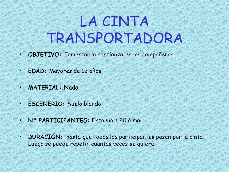 LA CINTA TRANSPORTADORA