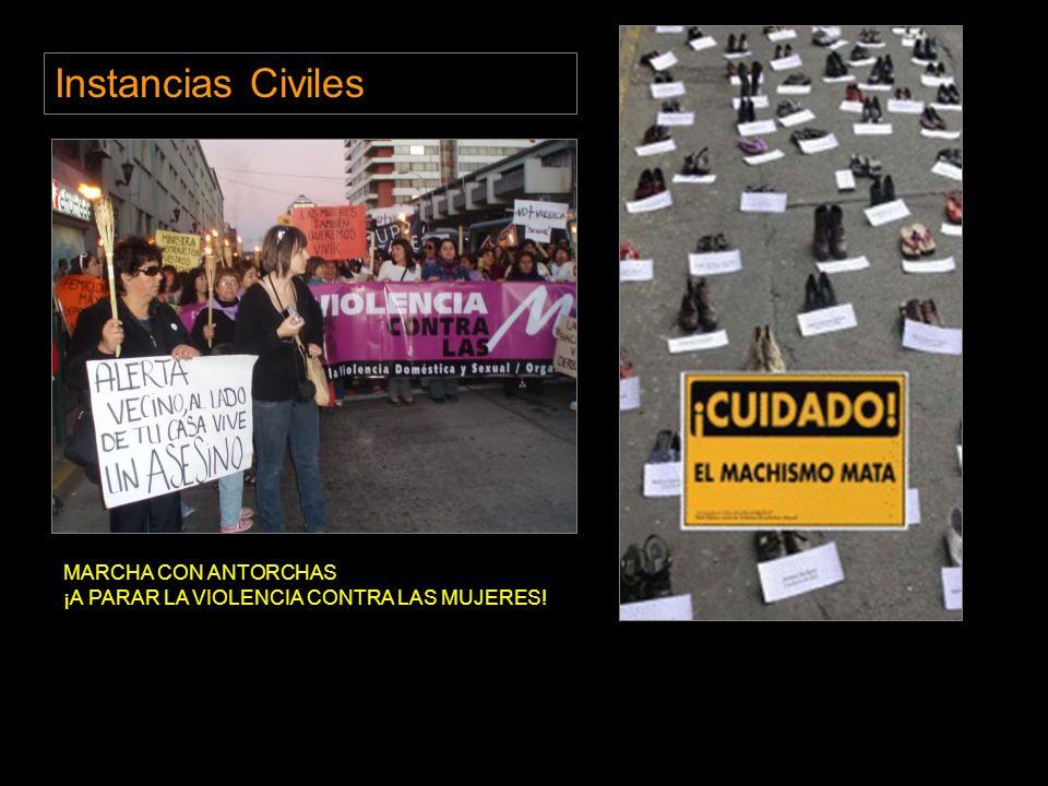 Instancias Civiles MARCHA CON ANTORCHAS