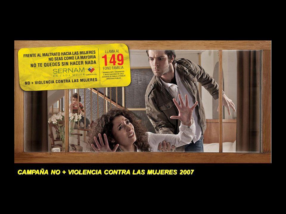 CAMPAÑA NO + VIOLENCIA CONTRA LAS MUJERES 2007