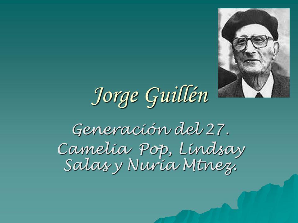 Generación del 27. Camelia Pop, Lindsay Salas y Nuria Mtnez.