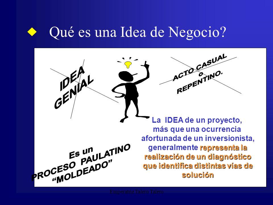 Qué es una Idea de Negocio