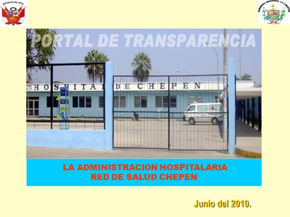 LA ADMINISTRACION HOSPITALARIA