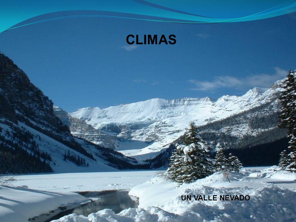 CLIMAS UN VALLE NEVADO
