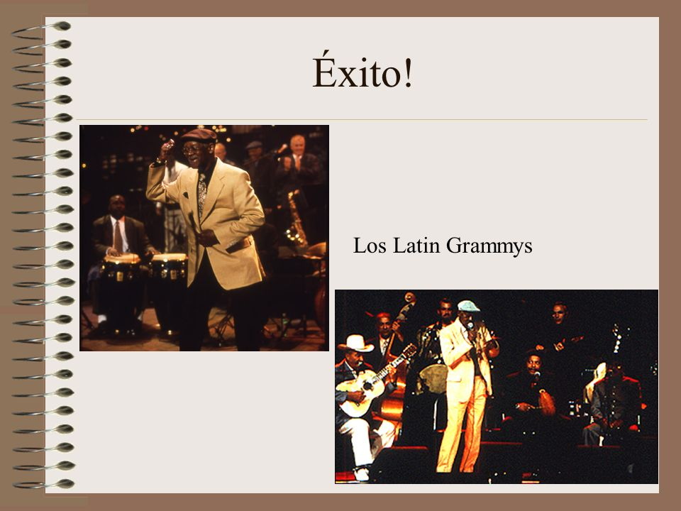 Éxito! Los Latin Grammys