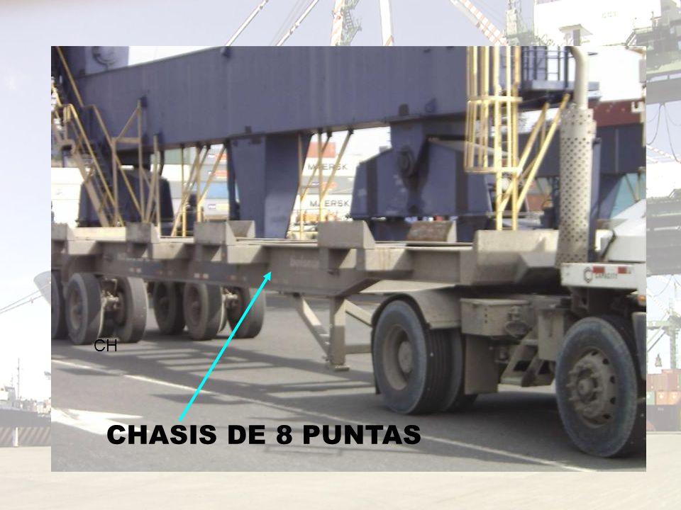 CH CHASIS DE 8 PUNTAS